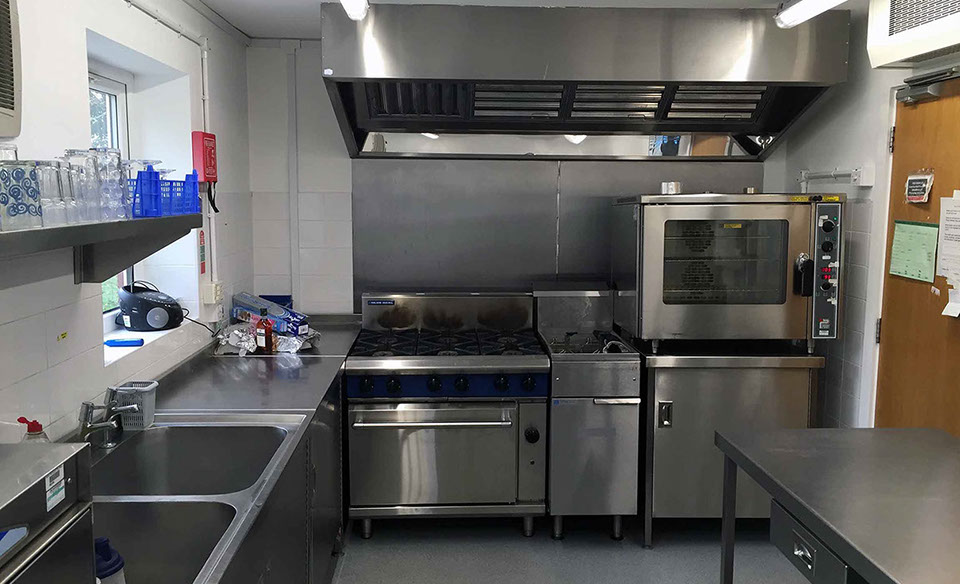 A Catering Extraction System Installation By Chesters Catering Equipment  Fiited In A Care Home In Warrington